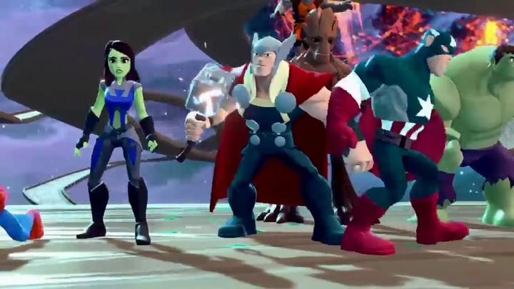 Les héros Marvel débarquent dans la Toy Box 2.0 de Disney Infinity