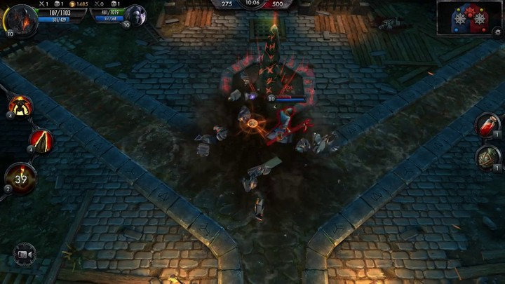 Premier aperçu du gameplay de The Witcher Battle Arena, le MOBA sur mobile