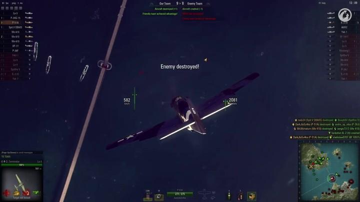 École de pilotage : voler en escadrille et les formations tactiques de World of Warplanes (VOSTFR)