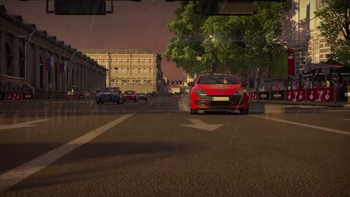 Aperçu du circuit moscovite de World of Speed