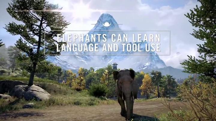 Aperçu des éléphants de Kyrat de Far Cry 4