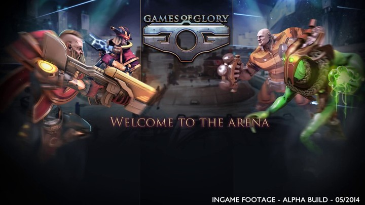 Premier aperçu du MOBA Games of Glory