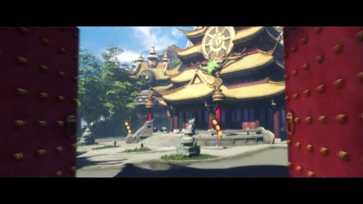 Illustration des effets visuels du MOBA King of Wushu