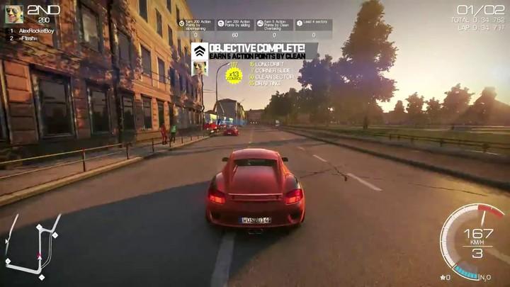 Séquences de gameplay de World of Speed