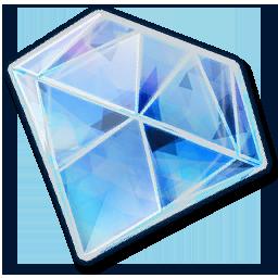 Icon resource gemstone diamond 256.png