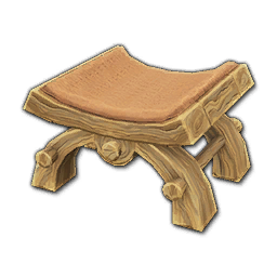 Prop-Simple Kerran Stool (Orange).png
