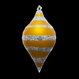 Icon props Theme Seasonal Winter Ornaments GoldCone01 256.png