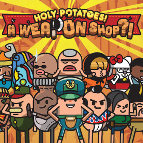 Holy Potatoes ? A Weapon Shop ! - Test d'Holy Potatoes : A Weapon Shop !? (PlayStation 4)