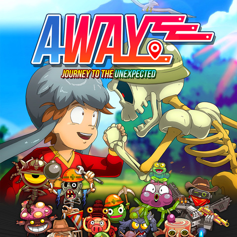 Away: Journey to the unexpected - Test de Away: Journey to the Unexpected - l'inattendu tendu