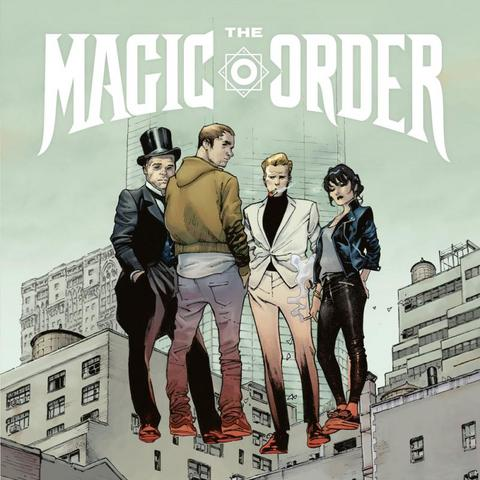 The Magic Order - Netflix adaptera son comics The Magic Order en série