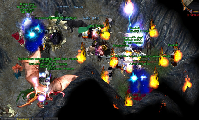 Dans la caverne Orc