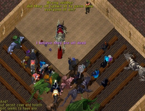 Ultima Online - Des affrontements à l'échelle d'une faction sur Ultima Online