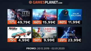 Promotions surprises sur le catalogue d'Electronic Arts