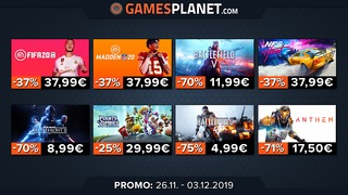 Promotions Gamesplanet : catalogue d'Electronic Arts