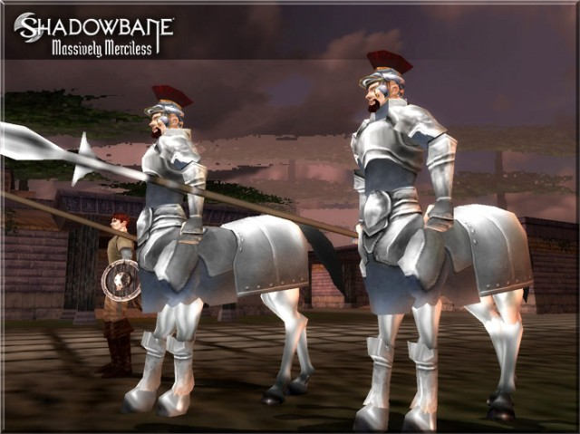 Des Centaures en armure