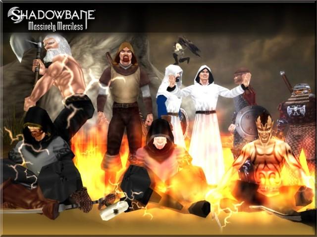 Les races de Shadowbane