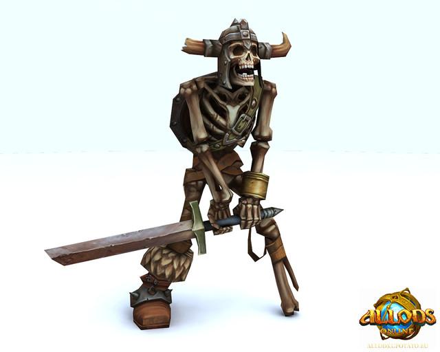 Guerrier Squelette