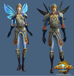 Les guerriers d'Allods : paladin
