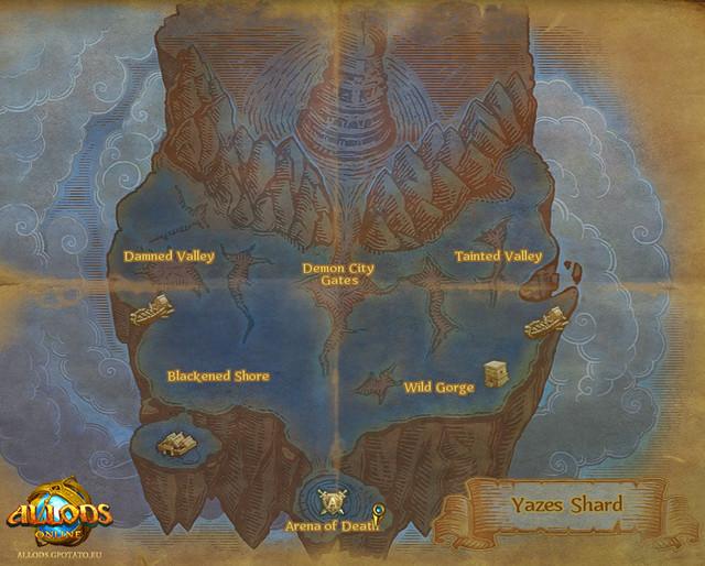 Carte de Yazes