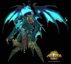 Démon astral : guerrier