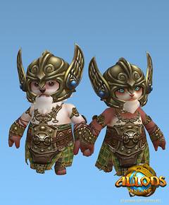 Les guerriers d'Allods : bagarreurs
