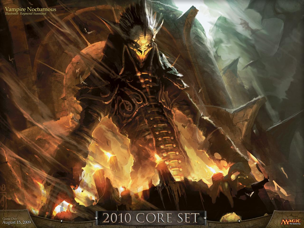 Magic 2010 Fond D Ecran Vampire Nocturnus Jeuxonline