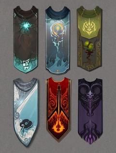 Storm Legion Concept de capes aux couleurs des Plans