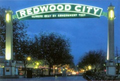 Redwood City nous voici
