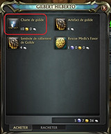 Achat charte de guilde