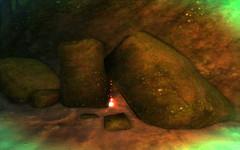 Un artefact altéré à Saillant de Lanterne