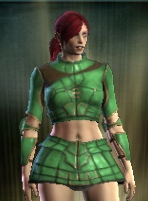 Teinture vert clair