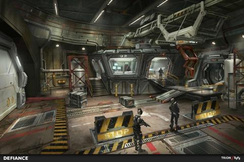 Bunker militaire EMC