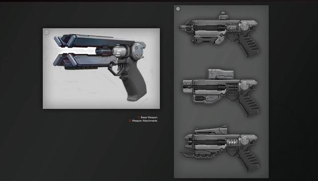 Armes de charge