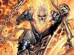 La minute du super-héros Marvel : Ghost Rider se brûle en touchant à l'occulte