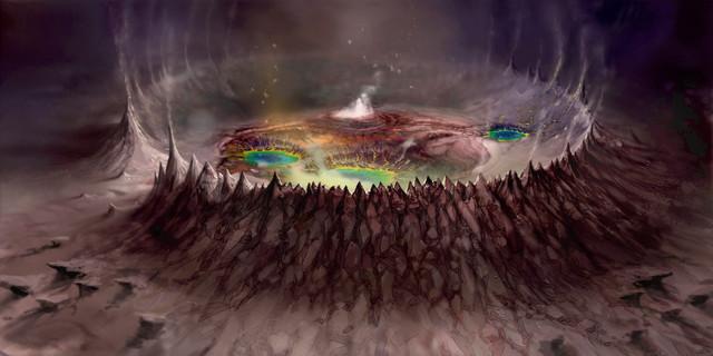 Cratère de Kara Korum