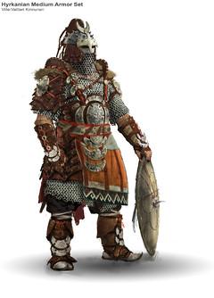 Armure hyrkanienne
