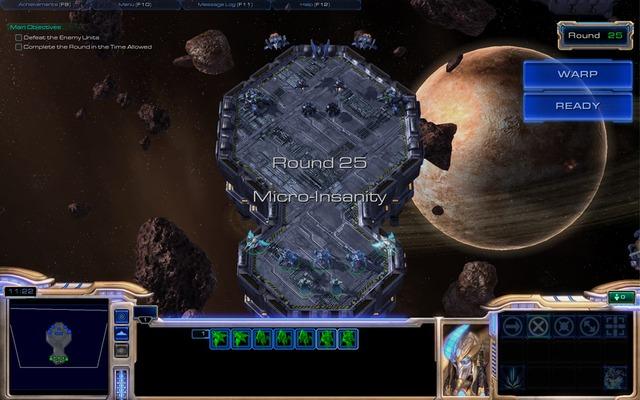 Jeu personnalisé : Maitre de Starcraft