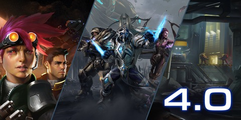 StarCraft II - La version « 4.0 » (free-to-play) de StarCraft II est déployée