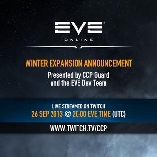 Annonce de l'extension d'EVE Online