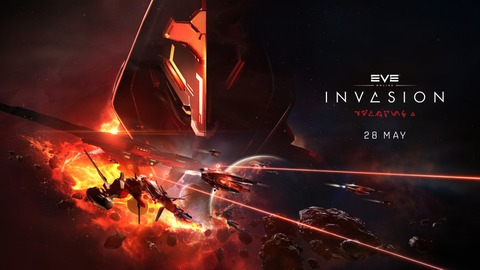 EVE Online - EVE Online: Invasion, la prochaine extension disponible le 28 mai