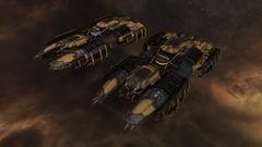 Barges de minage