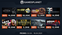 Promo Gamesplanet : First Class Trouble à -25%, Horizon Zero Dawn à -40%, 25 jeux Bethesda jusqu'à -70%