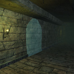 Porte Cachée dans Nektropos