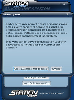 station launcher