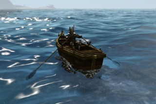 Modele bateau - AA RowBoat