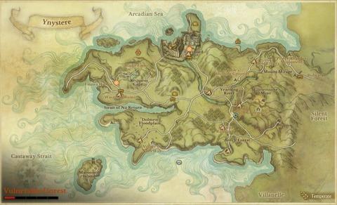 Carte localisée