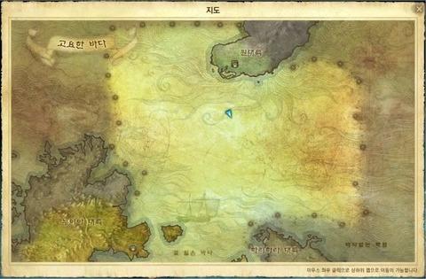 Monde marin map