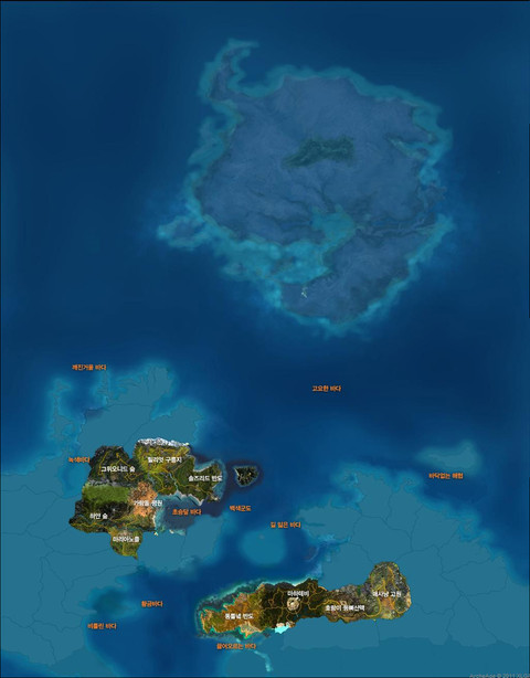 Carte du monde (bêta-test 3)