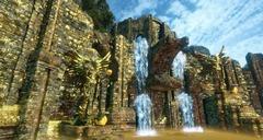 Ruines dorées