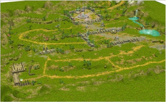 Carte du Mont Olympe